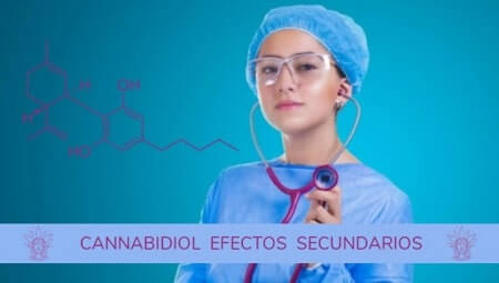 Cannabidiol CBD Efectos secundarios